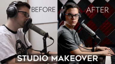Studio Makeover with ONLY $300 of Lights & Acoustic Foam!